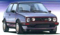 Fujimi Volkswagen Golf II GTi 16V makett
