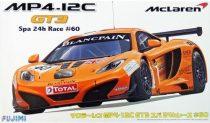 Fujimi McLaren MP4-12C GT3 Spa 24 makett