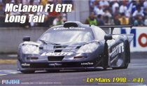 Fujimi McLaren F1 GTR Long Tail Le Mans 1998 makett