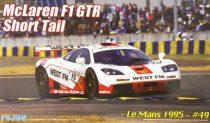 Fujimi McLaren F1 GTR Short Tail 1995 le Mans N49 West FM makett