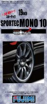 "Fujimi 19"" Sportec Mono 10 kerék szett"