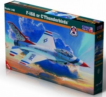 Mistercraft F-16 A or C Thunderbirds makett
