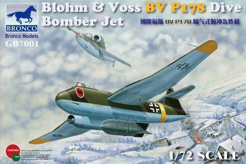 Bronco Blohm & Voss BV P.178 Dive Bomber Jet makett