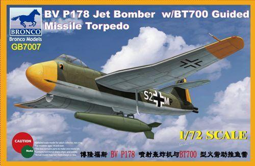 Bronco Blohm & Voss Bv P.178 Dive Bomber Jet with BT700 makett