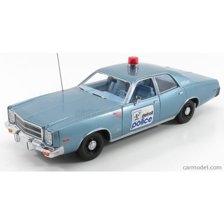 Greenlight PLYMOUTH FURY HAZZARD DETROIT POLICE 1977 - BEVERLY HILLS COP