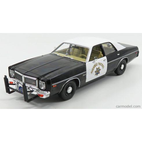 Greenlight DODGE CORONET CALIFORNIA HIGHWAY PATROL POLICE 1975