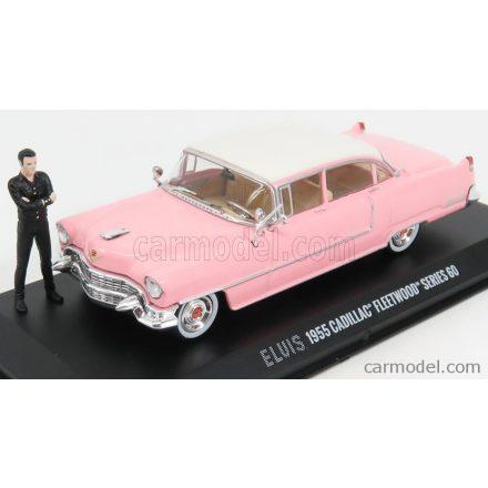 Greenlight CADILLAC FLEETWOOD SERIES 60 WITH FIGURE 1955 - PERSONAL CAR ELVIS PRESLEY