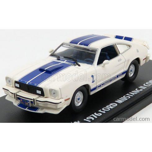 Greenlight FORD SHELBY MUSTANG II COBRA II 1976 - CHARLIE'S ANGELS (JILL MUNROE'S CAR)