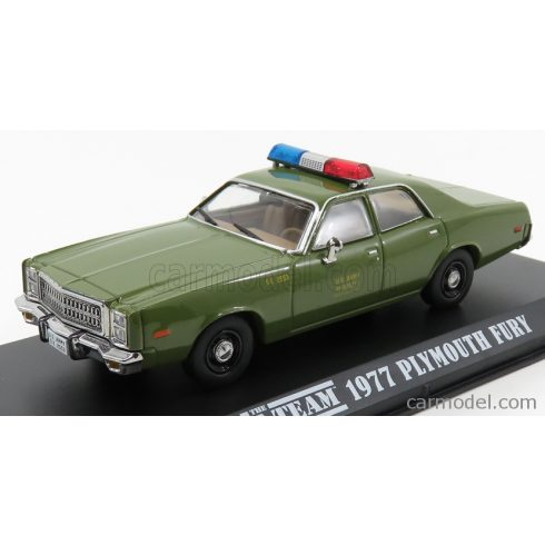 Greenlight PLYMOUTH FURY US ARMY MILITARY POLICE 1977 - A-TEAM