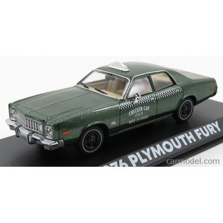 Greenlight PLYMOUTH FURY CHECKER CAB TAXI 1976 - BEVERLY HILLS COP