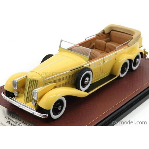 GLM MODELS HISPANO SUIZA VICTORIA H6A TOWN CAR 1923 OPEN