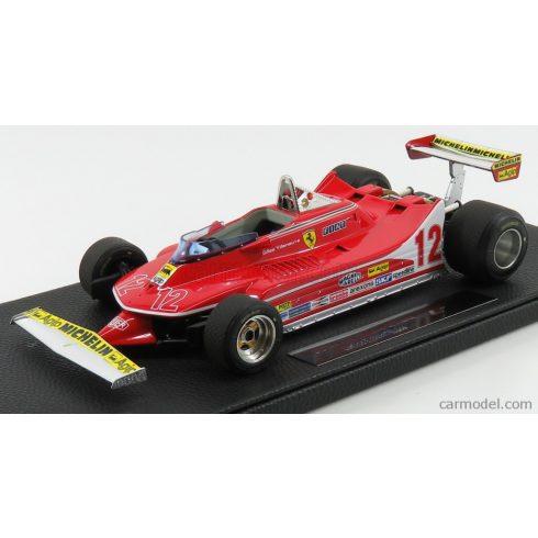 GP Replicas FERRARI  F1 312T4 N 12 2nd GP FRENCH 1979 G.VILLENEUVE