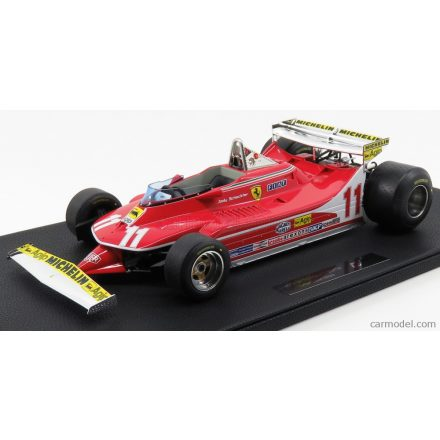 GP Replicas FERRARI F1 312T4 SHORT TAIL N 11 GP MONACO J.SCHECKTER 1979 WORLD CHAMPION