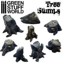 Green Stuff World Tree Stumps (Big)