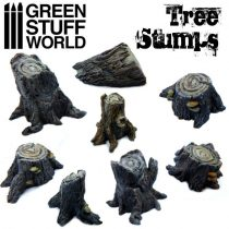 Green Stuff World Tree Stumps (Big)