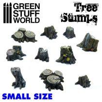 Green Stuff World Tree Stumps (Small)