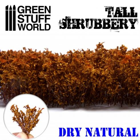 Green Stuff World Tall Shrubbery - Dry Natural