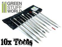 Green Stuff World Sculpting Tool Set 10