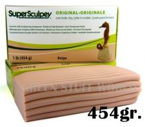 Green Stuff World Super Sculpey Beige 454 gr