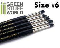 Green Stuff World formázó szilikon ecset 6 - BLACK FIRM