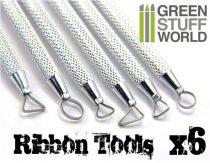 Green Stuff World Mini Ribbon Sculpting Tool Set