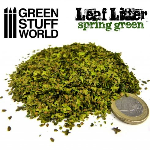 Green Stuff World Leaf Litter - Spring Green