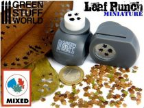 Green Stuff World Miniature Leaf Punch GREY