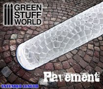 Green Stuff World Rolling Pin Pavement