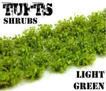 Green Stuff World Shrubs TUFTS LIGHT GREEN