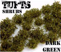 Green Stuff World Shrubs TUFTS DARK GREEN
