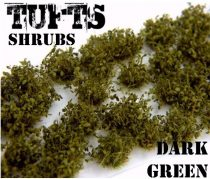 Green Stuff World Shrubs TUFTS DARK GREEN