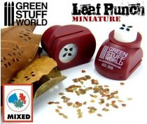 Green Stuff World Miniature Leaf Punch RED