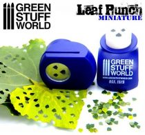 Green Stuff World Miniature Leaf Punch DARK PURPLE