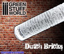 Green Stuff World Rolling Pin DUTCH Bricks