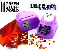 Green Stuff World Miniature Leaf Punch LIGHT PURPLE