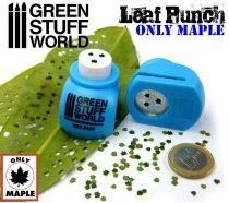 Green Stuff World Miniature Leaf Punch MEDIUM BLUE