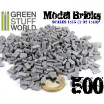 Green Stuff World Model Bricks - Grey
