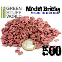 Green Stuff World Model Bricks - Red