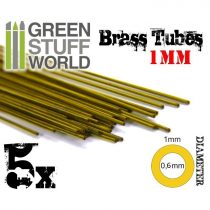Green Stuff World cső profil 1mm (réz)