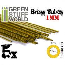 Green Stuff World cső profil 1mm (réz)