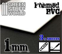 Green Stuff World habosított műanyag lap 1mm