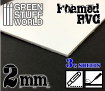 Green Stuff World habosított műanyag lap 2mm