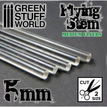 Green Stuff World átlátszó kör profil 5mm