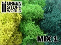 Green Stuff World Islandmoss - Green Mix