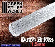 Green Stuff World Rolling Pin DUTCH Bricks