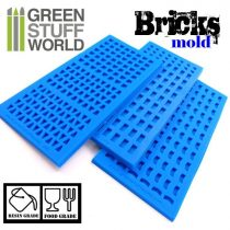 Green Stuff World szilikon forma (tégla)