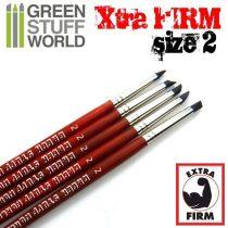 Green Stuff World formázó szilikon ecset 2 - EXTRA FIRM