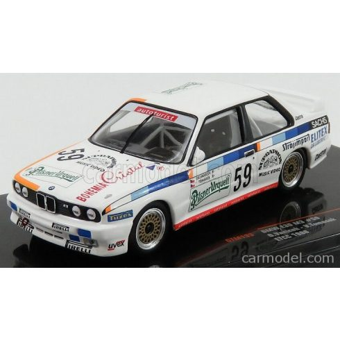 IXO BMW 3-SERIES M3 (E30) N 59 ETCC SEASON 1988 O.VANICEK - V.TOMASEK