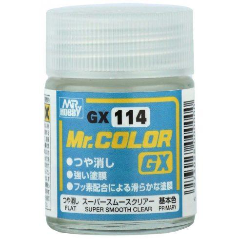 Mr. Color Super Smooth Clear Flat (matt lakk)
