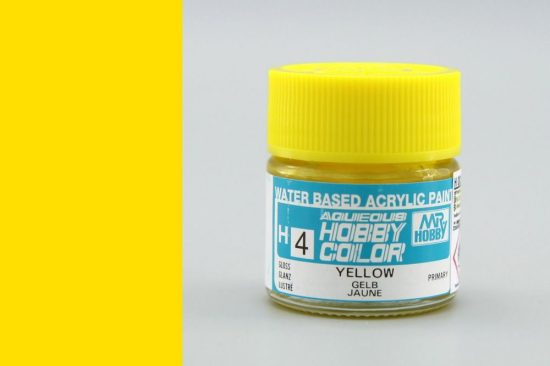 Hobby Color H4 Yellow (fényes)